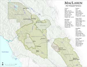 MacLaren partners map